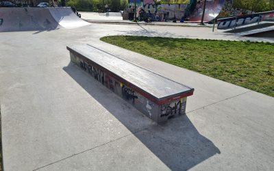 Der rote Skatepark