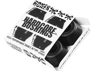 Bones Hardcore Bushings Black 96A Hard - SET