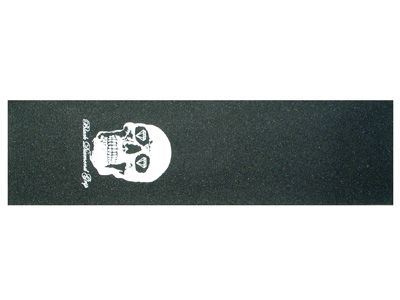Black Diamond Skateboard Griptape skull weiß