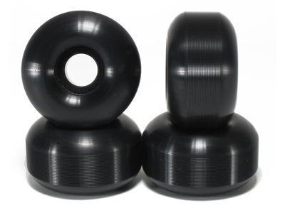 Blank Skateboard Rollen Premium candle schwarz 101A 54mm