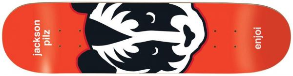 Enjoi Pilz Kiss Skateboard Deck 8.375