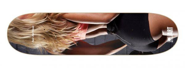 Jart Pleasures (Super High Concave) Skateboard Deck 8.25