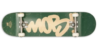 MOB Skateboards Komplettboard Tag Logo green - 8.25