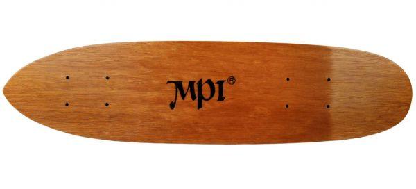 Retro 1970s Dark Wood Kicktail MPI Deck 6.5