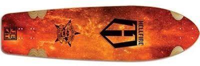 Hellfire by Jet Wrath Inferno Longboard-Deck 37.5 x 9.85