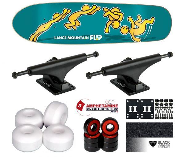 Flip Mountain Doughboy Cruiser Komplett Skateboard 8.63