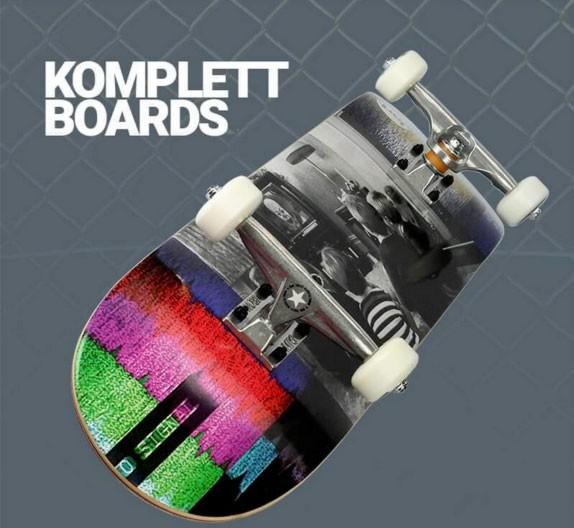 Komplett Skateboards im Skatehop