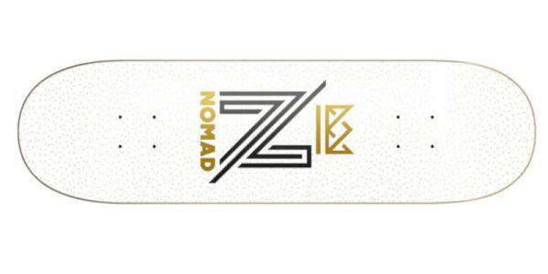 NOMAD OG Logo white Deck - 8.5