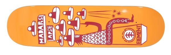 Element Apse Los Amigos Skateboard Deck 8.00