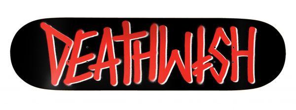 Deathwish Deathspray Red BLK/RED Skateboard Deck 8.00