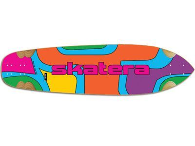 Skatera by Jet Rapture ColorTheory Longboard-Deck 36 x 9.85
