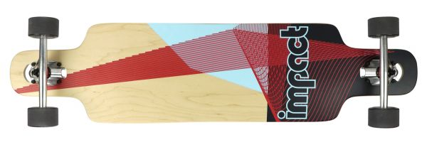 Impact Synthesis red Dropthrough Complete 39 x 9.5