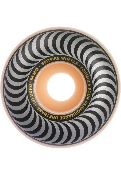 Spitfire Skateboard Rollen F4 Classic Silver 101A 54mm