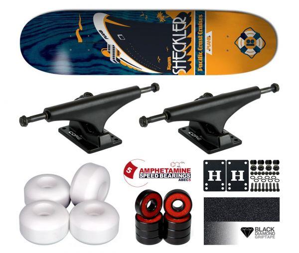 Plan B Sheckler Open Seas Komplett Skateboard 8.0