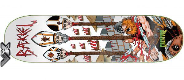 Creature Skateboard Deck Baekkel TOKT VX 8.3