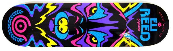 Organika Reed Animal Instinct Skateboard Deck 8.10