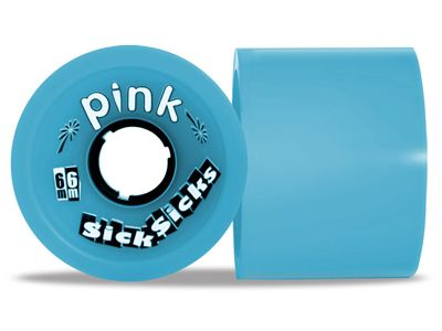 Pink Longboard Wheels SickSicks 81A 66mm