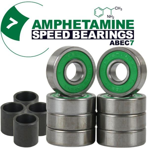 Amphetamine Bearings Skateboard Kugellager ABEC 7 8-Ball