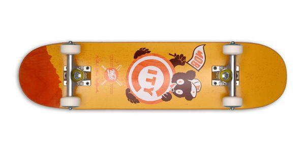 MOB Skateboards Ballpark Mini Komplettboard 7.25