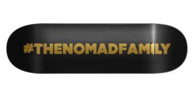 Nomad Hashtag Black Deck - 8.0