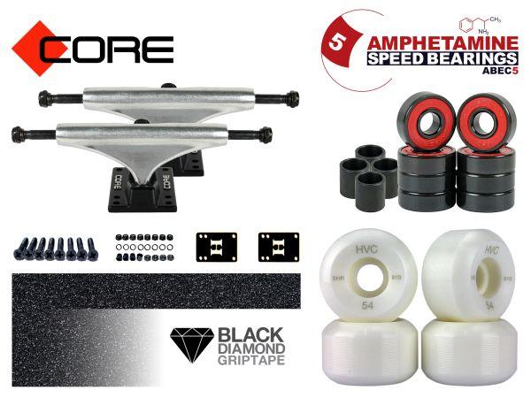 Skateboard Achsen Set-up Core silver 6.0