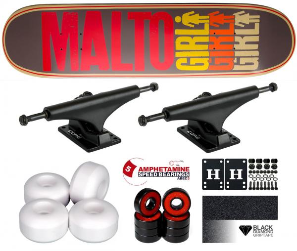 Girl Malto Triole OG Komplett Skateboard 8.125