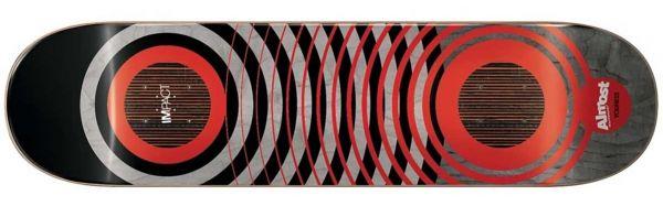 Almost Amrani Red Rings Impact Skateboard Deck 8.25