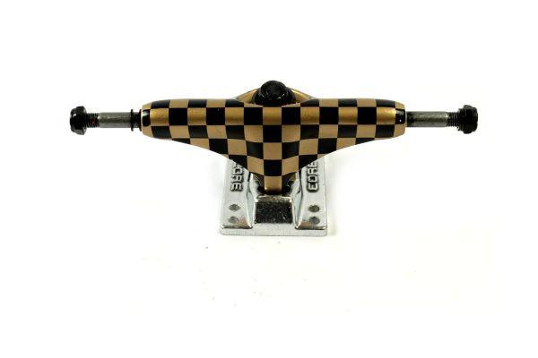 Core Trucks Skateboard Achse checkered gold/silber 5.0