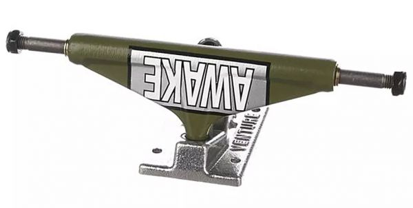 Venture Skateboard Achse Hi Motto Ltd Army Green 5.25
