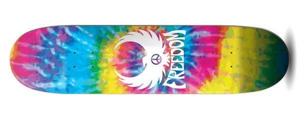 Freedom Freebird Tye-dye Skateboard Deck