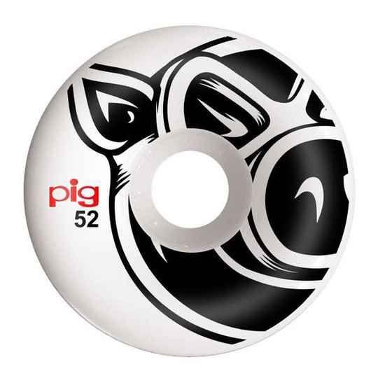 Pig Skateboard Rollen Head Conical Natural 101A 52mm