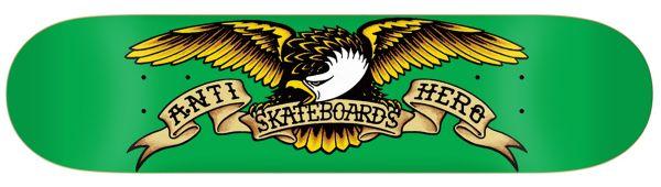 Anti Hero Team Classic Eagle Skateboard Deck 7.8