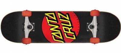 Santa Cruz komplett Skateboard Classic Dot Super Micro 7.25