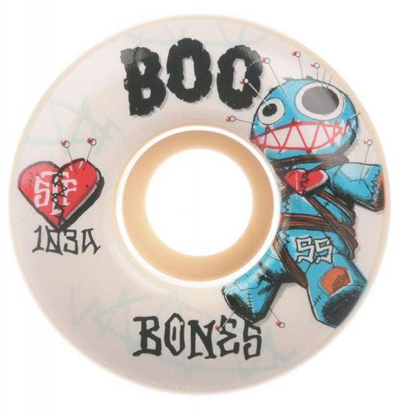 Bones Wheels Skateboard Rollen STF Boo Johnson Voodoo 103A V4 55mm