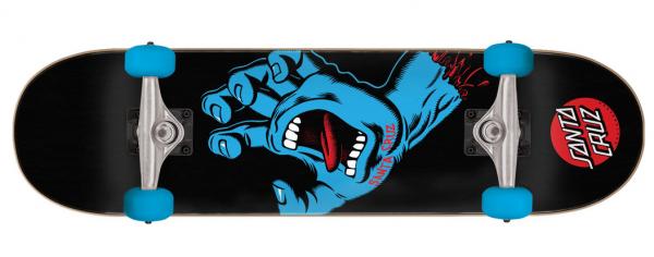 Santa Cruz komplett Skateboard Screamimng Hand Black 8.0