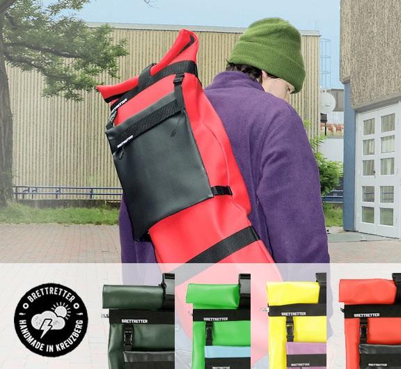 Brettretter Skateboard Rucksack Bag Crossbag