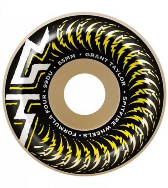 Spitfire Skateboard Wheels F4 Taylor OG Classic 99a 55mm