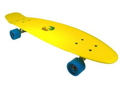 Paradise Plastic Cruiser Yellow / Cyan 7.25 x 28