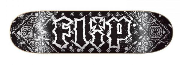 Flip HKD Bandana Black Skateboard Deck 8.13