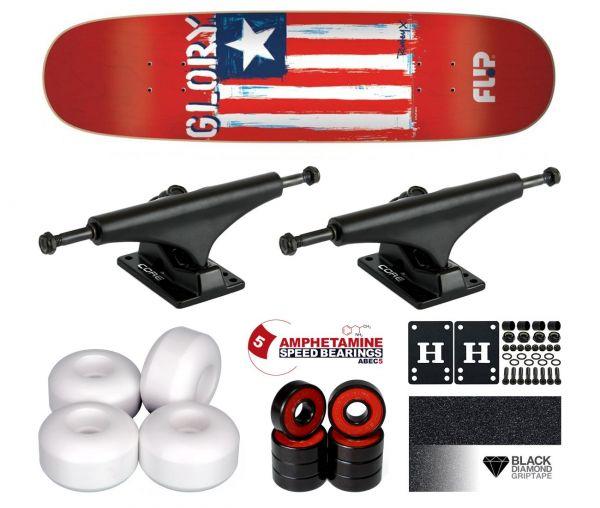 Flip Rowley Glory Komplett Skateboard 8.44