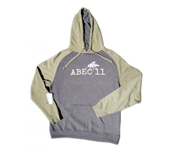 ABEC 11 Pullover Hoodie Gray / Army Heather L