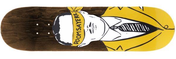 Doomsayers Corp Guy Skateboard Deck 8.2