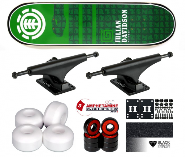 Element Davidson Chromatics Komplett Skateboard 7.75