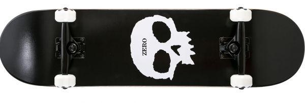 Zero Team Single Skull Blk Wht Komplett Skateboard 8.0