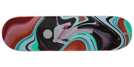 Girl Brophy Oil Slick Skateboard Deck 8.50