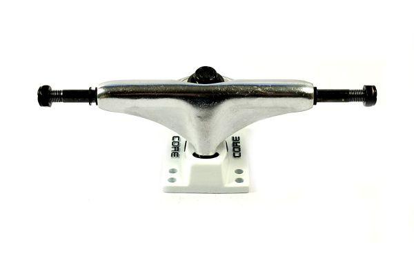 Core Trucks Skateboard Achse silber/weiss 5.0