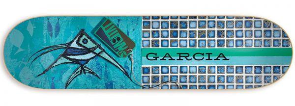 Habitat Exposition Re-Issue Garcia Skateboard Deck 8.125