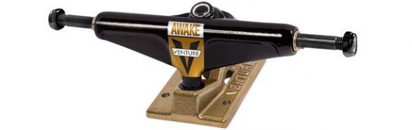 Venture Truck 5.0 Low OG Awake schwarz gold