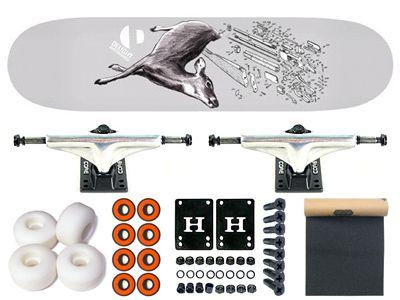 Delight Reaktiv Komplett Skateboard 8.0