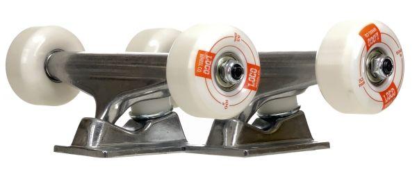 LOCO Skateboard Truck Set assembled 5.0